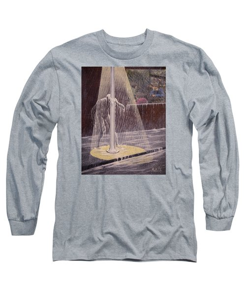 Invisible Man Long Sleeve T-Shirt by Jack Malloch