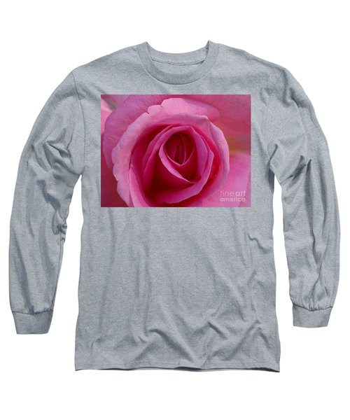 Inviting Pink Long Sleeve T-Shirt by Paul  Wilford