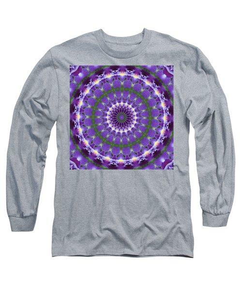 Iris Kaleidoscope  Long Sleeve T-Shirt