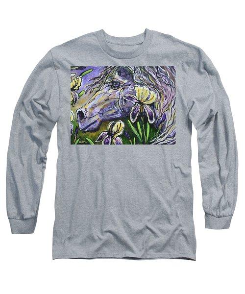 Iris Upon A Star Long Sleeve T-Shirt
