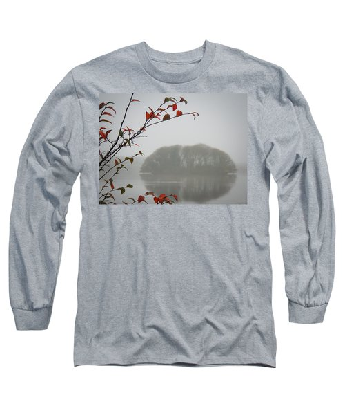 Irish Crannog In The Mist Long Sleeve T-Shirt