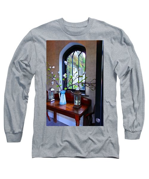 Long Sleeve T-Shirt featuring the photograph Irish Elegance by Charlie and Norma Brock