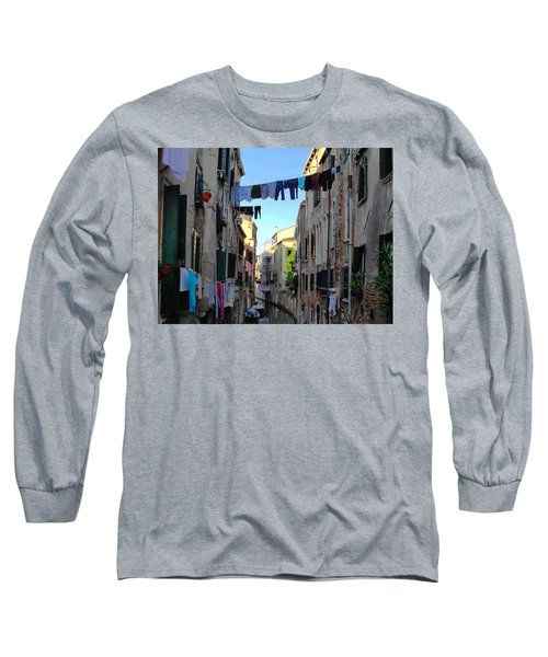 Italian Clotheslines Long Sleeve T-Shirt