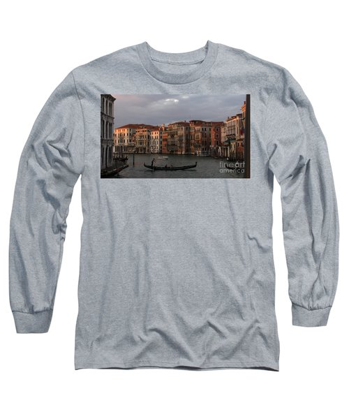 Italian Evening Long Sleeve T-Shirt by Jennifer Wheatley Wolf