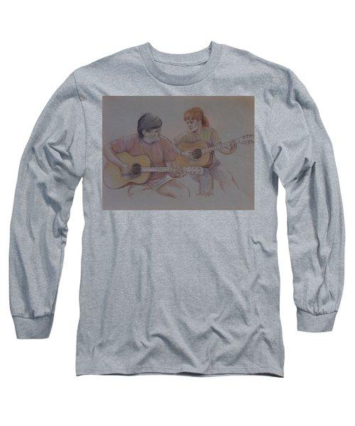 Jamin Long Sleeve T-Shirt by Duane R Probus