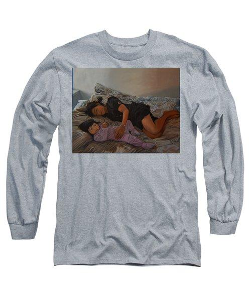 January Afternoon Mukilteo Washington Long Sleeve T-Shirt