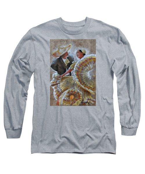 Jarabe Tapatio Dance Long Sleeve T-Shirt