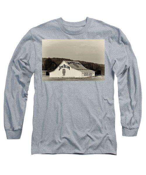 Jim Beam - D008291-bw Long Sleeve T-Shirt