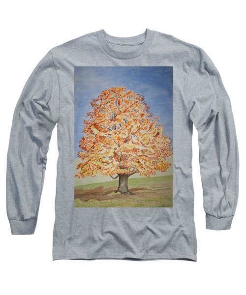 Jolanda's Maple Tree Long Sleeve T-Shirt