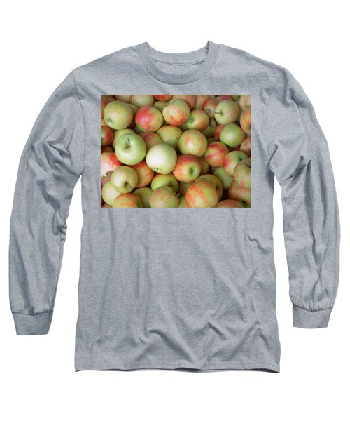 Jonagold Apples Long Sleeve T-Shirt by Joseph Skompski