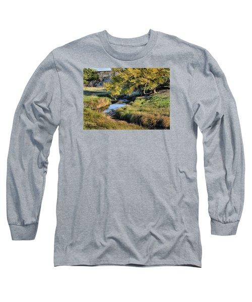Jordan Creek Autumn Long Sleeve T-Shirt by Bruce Morrison