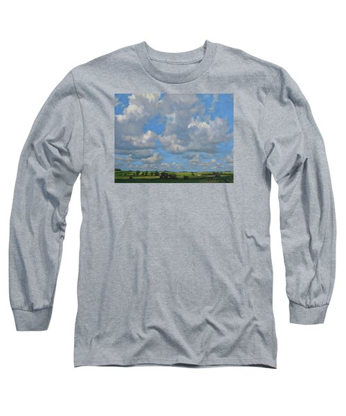 July In The Valley Long Sleeve T-Shirt by Bruce Morrison
