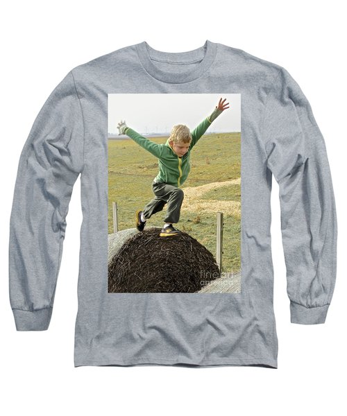 Jumping Haystacks Long Sleeve T-Shirt
