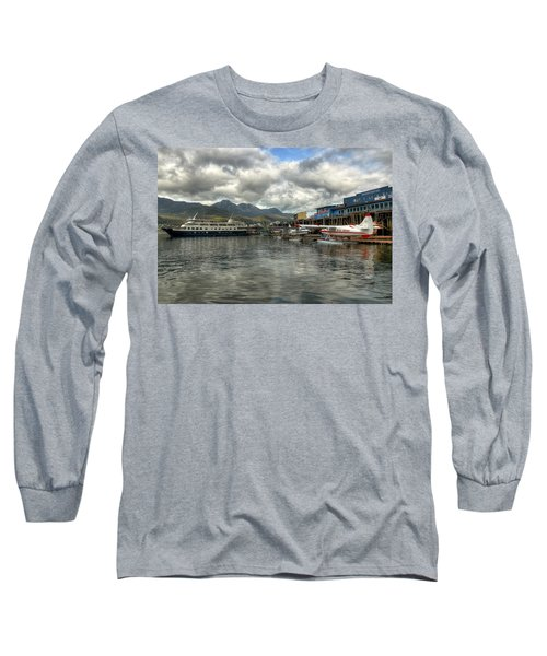 Juneau's Hangar On The Wharf Long Sleeve T-Shirt