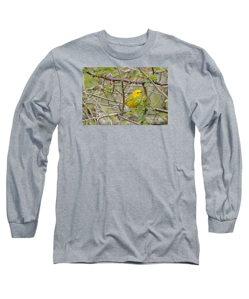 Just Brightening Your Day Long Sleeve T-Shirt by Randy Bodkins
