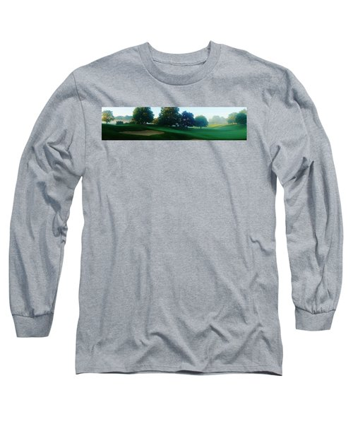 Just Off The Green Long Sleeve T-Shirt by Daniel Thompson