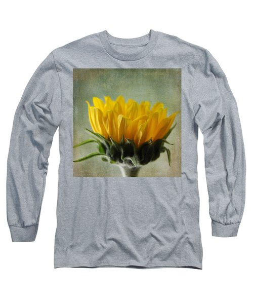 Just Opening Sunflower Long Sleeve T-Shirt