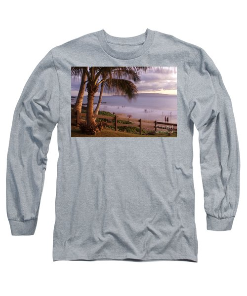 Kai Makani Hoohinuhinu O Kamaole - Kihei Maui Hawaii Long Sleeve T-Shirt