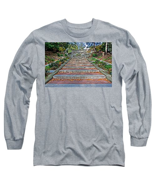 Kalorama Spanish Steps Long Sleeve T-Shirt