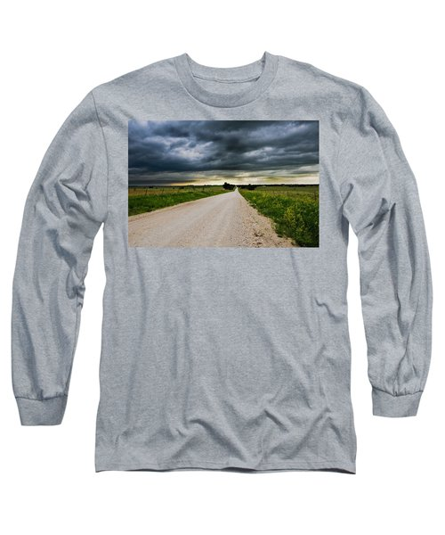 Kansas Storm In June Long Sleeve T-Shirt