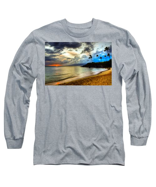 Kapalua Bay Sunset Long Sleeve T-Shirt