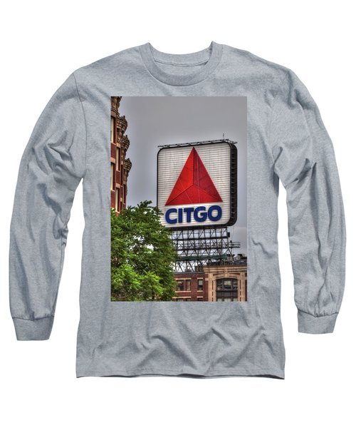 Kenmore Square And The Citgo Sign Long Sleeve T-Shirt by Joann Vitali
