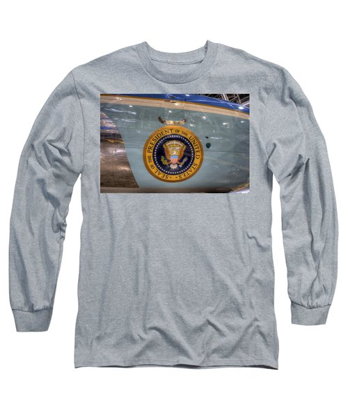 Kennedy Air Force One Long Sleeve T-Shirt