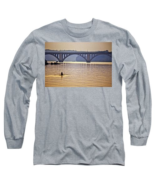 Key Bridge Rower Long Sleeve T-Shirt
