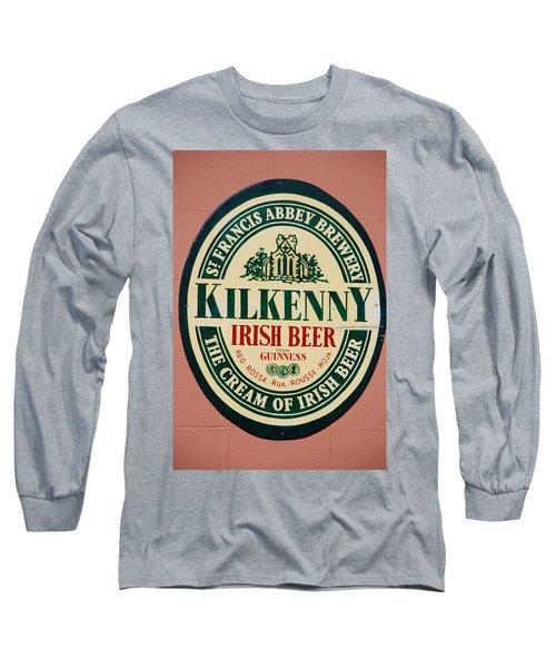Kilkenny Irish Beer Long Sleeve T-Shirt