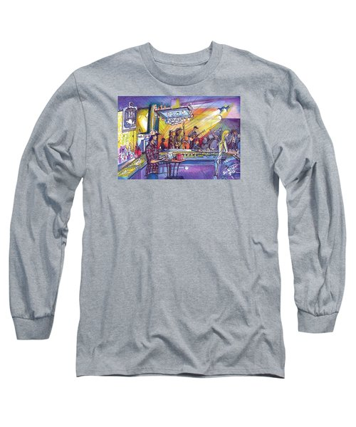 Long Sleeve T-Shirt featuring the painting Kitchen Dwellers  by David Sockrider