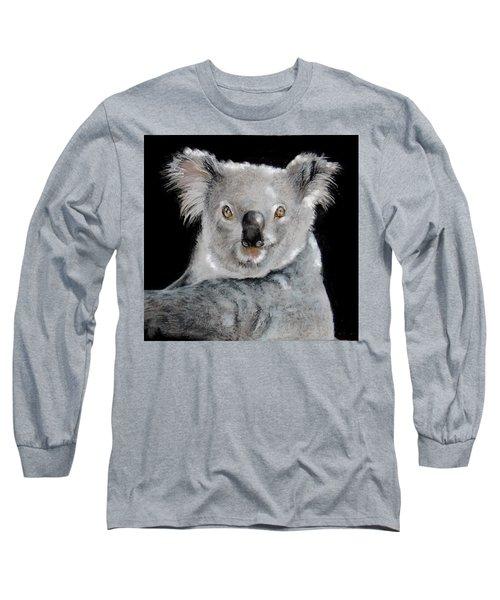 Koala Long Sleeve T-Shirt by Jean Cormier