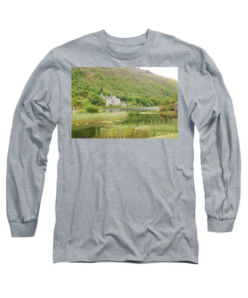 Kylemore Abbey 1 Long Sleeve T-Shirt by Mary Carol Story