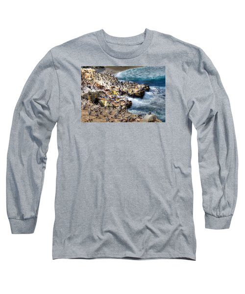 La Jolla Cove Wildlife Long Sleeve T-Shirt