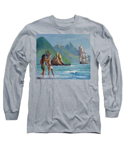 La Rencontre De Deux Mondes Long Sleeve T-Shirt