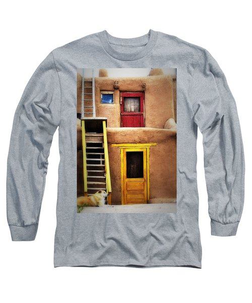 Ladders Doors And The Dog Long Sleeve T-Shirt