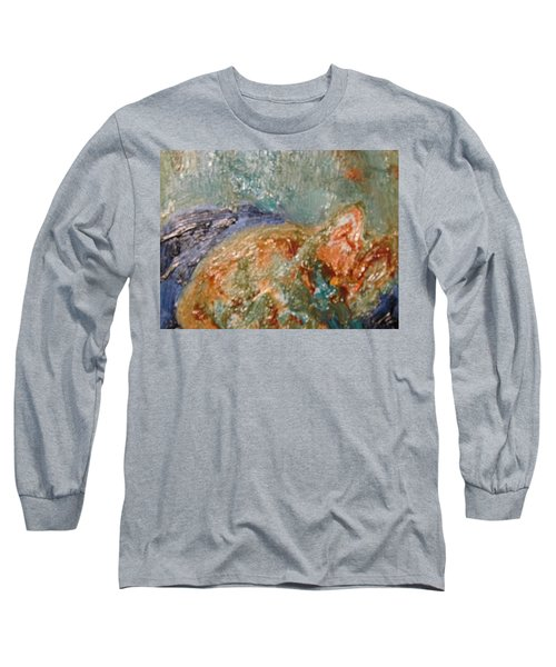 Lady The Cat Sleeping Soundly And Peacefully Long Sleeve T-Shirt