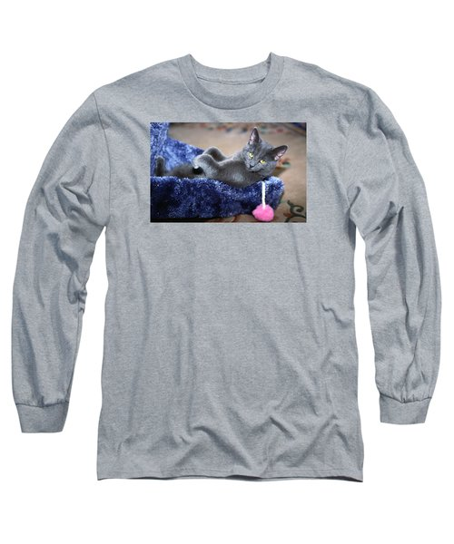 Long Sleeve T-Shirt featuring the photograph Laid Back by Sally Weigand