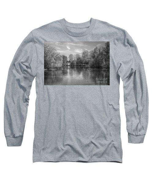 Lake Reflections Mono Long Sleeve T-Shirt