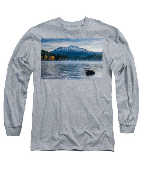 Lake Siskiyou Morning Long Sleeve T-Shirt