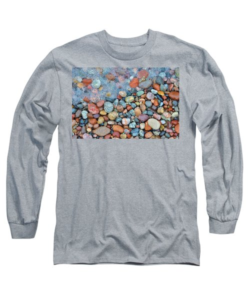 Lake Superior Stones 3 Long Sleeve T-Shirt
