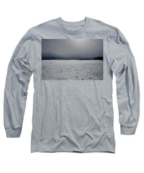 Lake Tahoe Winter Long Sleeve T-Shirt