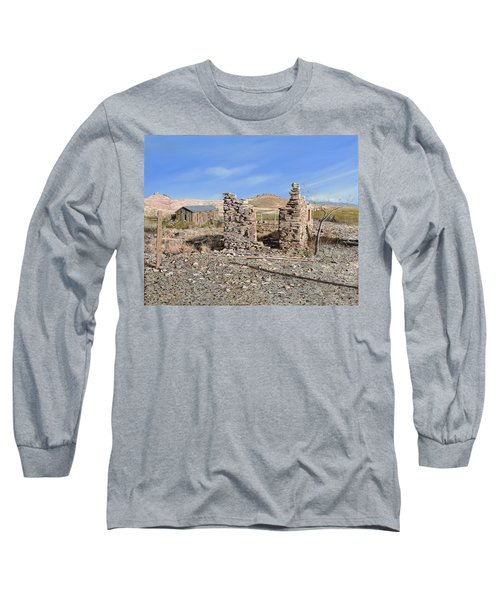Lake Valley-new Mexico  Long Sleeve T-Shirt