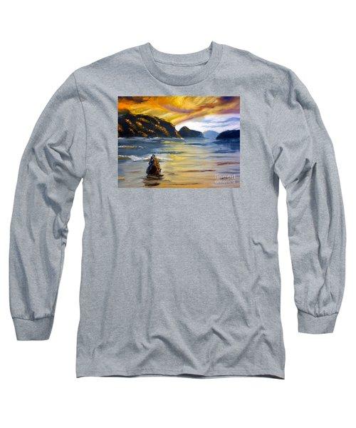 Lake Wahatipu Queenstown Nz Long Sleeve T-Shirt