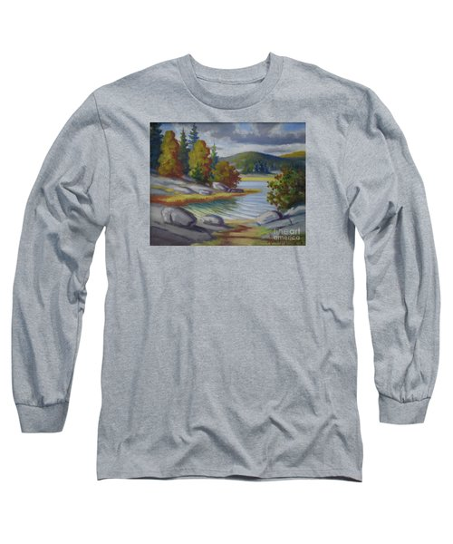 Landscape From Finland Long Sleeve T-Shirt