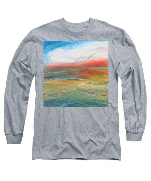 Landscape I Long Sleeve T-Shirt by Sheridan Furrer