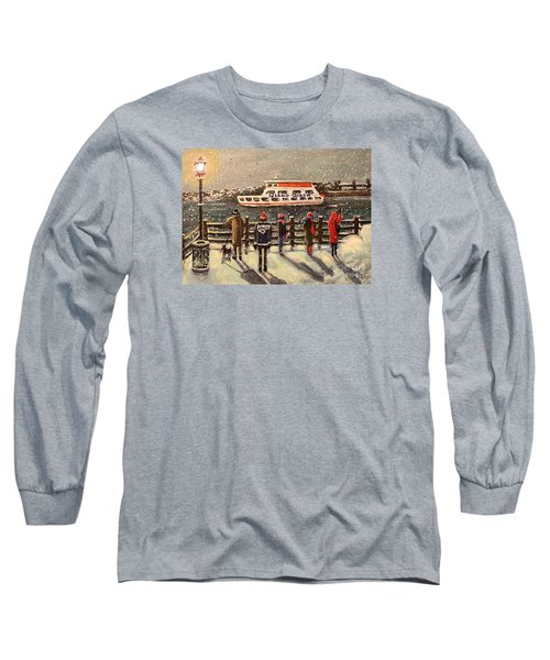 Last Ferry Long Sleeve T-Shirt by Rita Brown