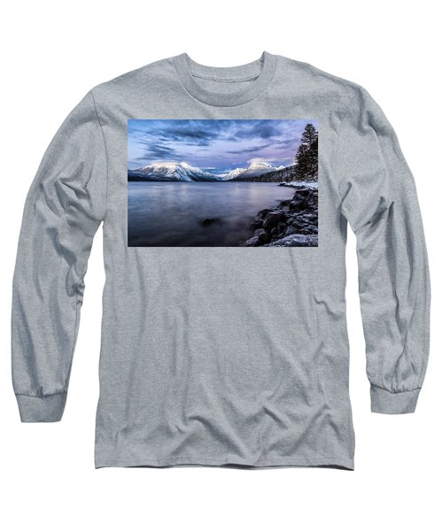 Long Sleeve T-Shirt featuring the photograph Last Light by Aaron Aldrich