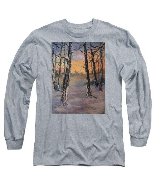 Last Of The Sun Long Sleeve T-Shirt by Jean Walker
