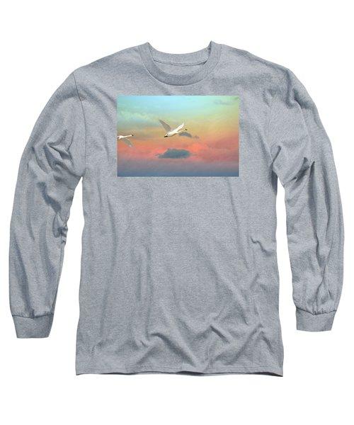 Last Vestige Long Sleeve T-Shirt by Ed Hall