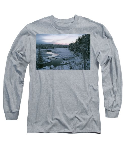 Long Sleeve T-Shirt featuring the photograph Late Afternoon In Winter by David Porteus